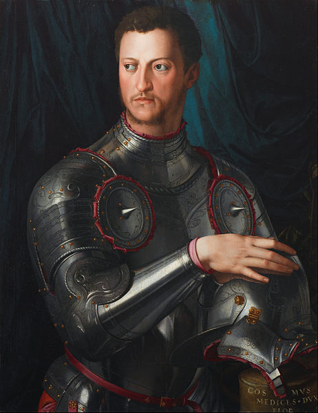 [Photo Credits: Cosimo de' Medici in Armour, Bronzino, Wikimedia Commons]