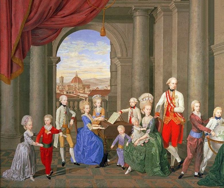 Family of Grand Duke Peter Leopold