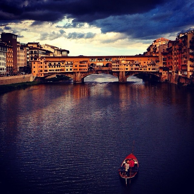 Florence on a rainy day [Photo Credits: Valentina Dainelli @TooMuchTuscany]