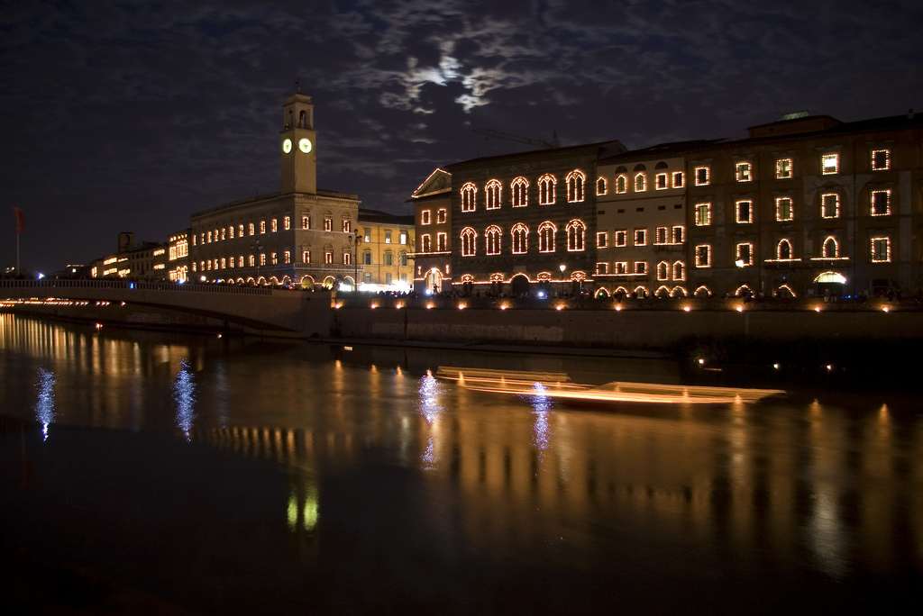 The Luminara of San Ranieri [Photo Credits: Pablo Tenorio]