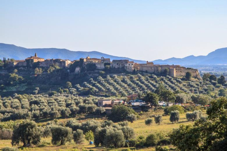 A view of Magliano in Toscana