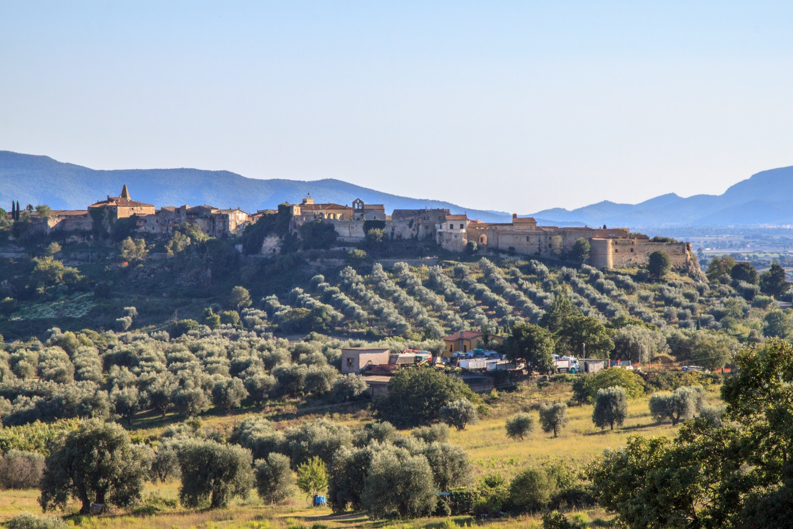 A view of Magliano in Toscana [Photo Credits: Serena Puosi - Tuscany Social Media Team]
