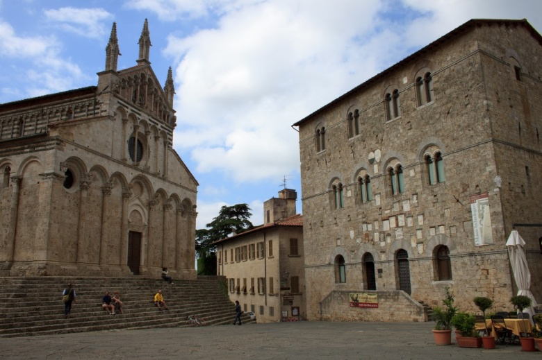 Massa Marittima Cathedral and the Palazzo del Podestà