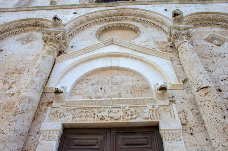 Details of the Saint Cerbonius Cathedral in Massa Marittima