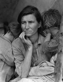 Dorothea Lange, Migrant Mother (1936); photo: wikipedia