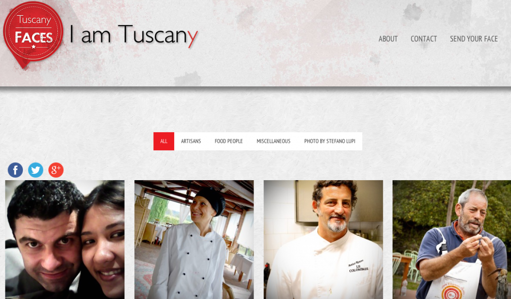 Tuscany Faces - Home page