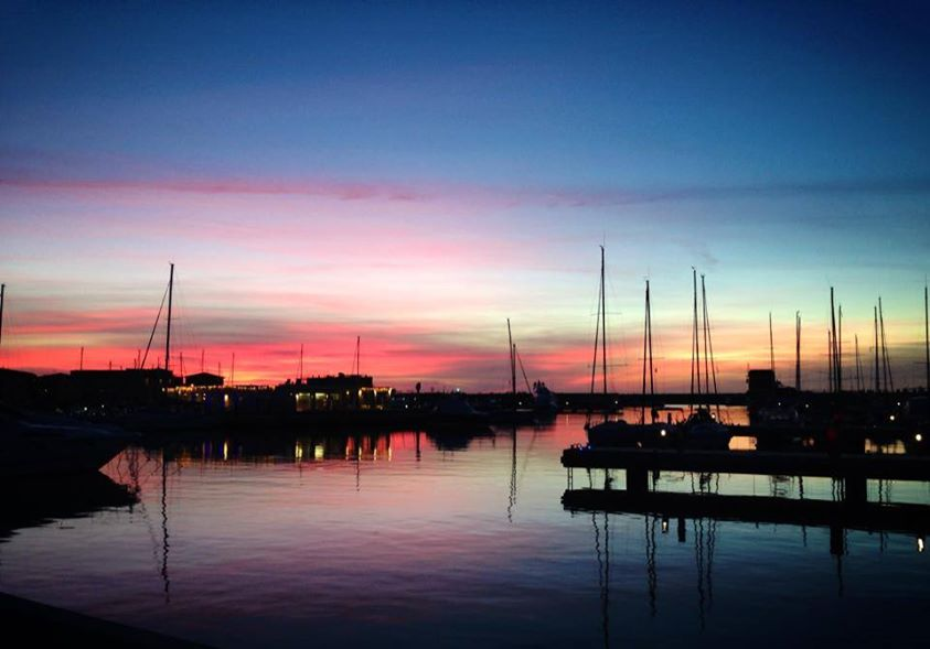 Winter sunset in Marina di Pisa [Photo Credits: Kinzica Sorrenti]