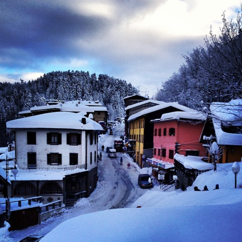 Abetone in winter