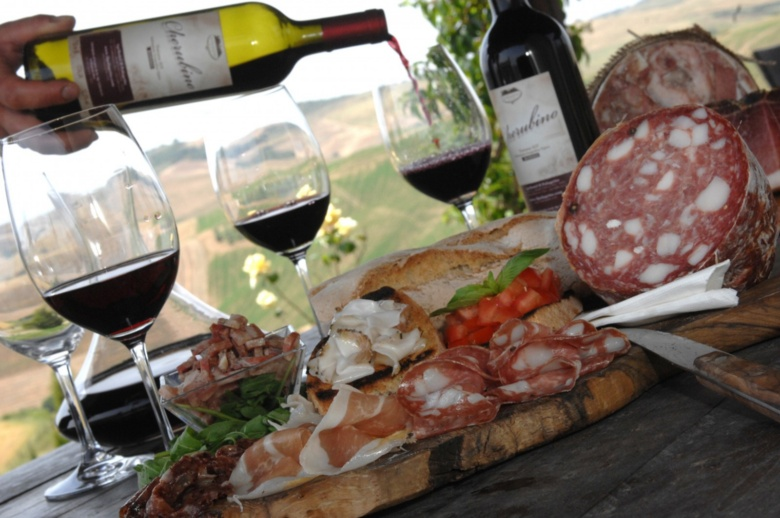 Fabulous food and wine in Tuscany