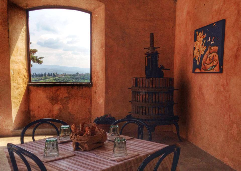 Lunch at Agriturismo [Photo taken at Agriturismo nel Chianti Fattoria IL Paganello by Kinzica Sorrenti] #chiantidavivere
