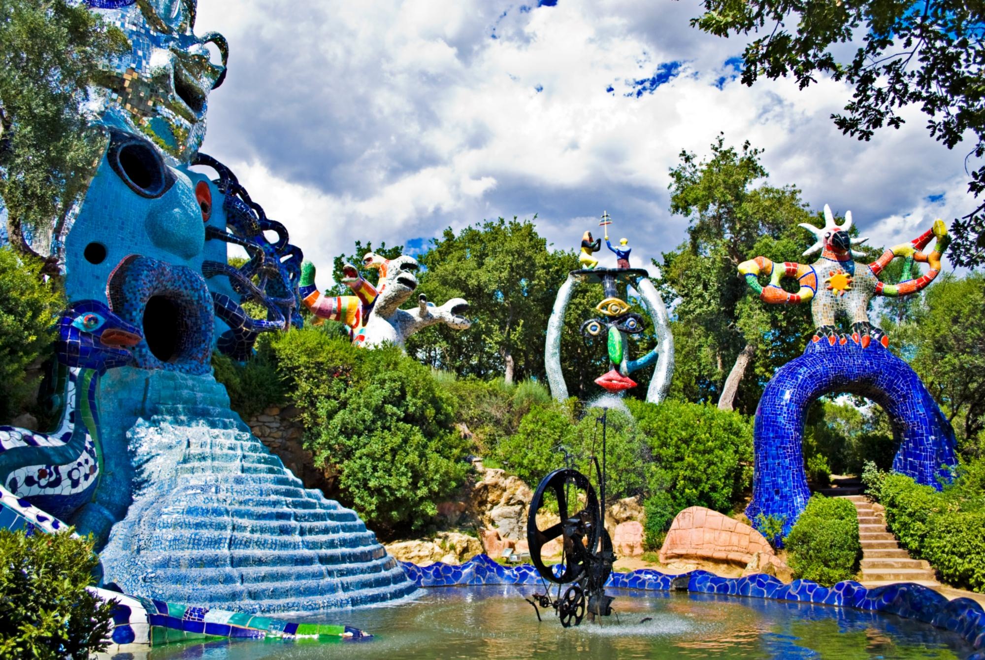 Tarot garden visit tuscany - Jardin tarots niki de saint phalle ...