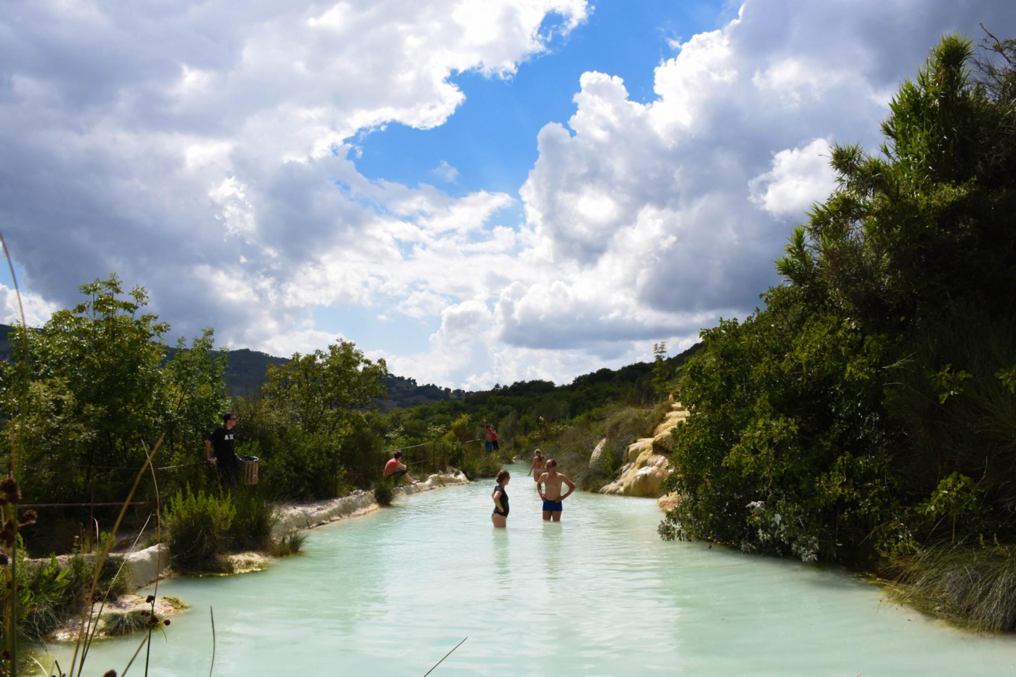 Bagno vignoni hot springs in val d orcia visit tuscany