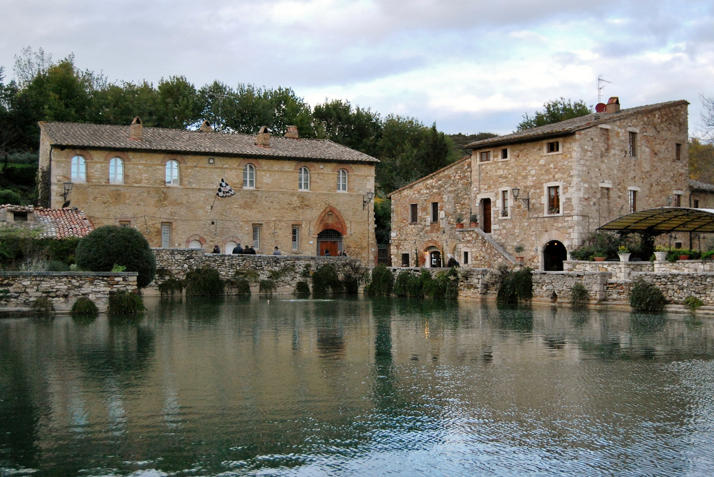 Bagno Vignoni [Photo credits: Around Tuscany]