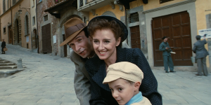 """Life is beautiful"", Benigni"