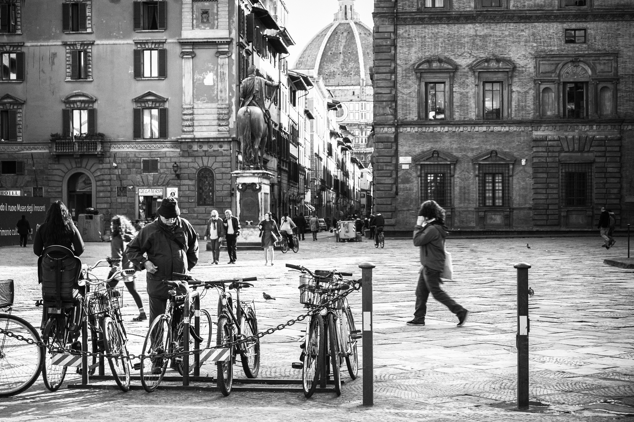 Bicycles in florence [Photo Credits: Giovani Racca]