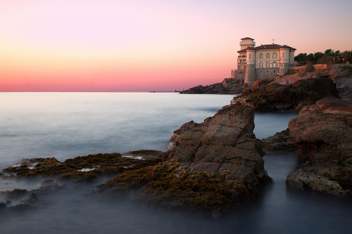 The Castle of Boccale at sunset [Photo Credits: Alessandro]