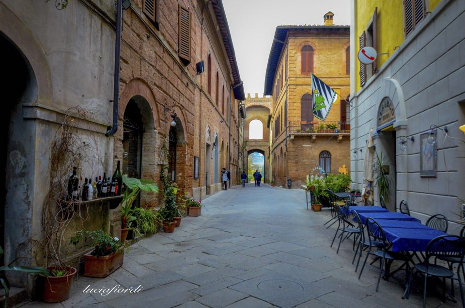 The atmospheres of Buonconvento [Photo Credits: Lucia Fiordi]
