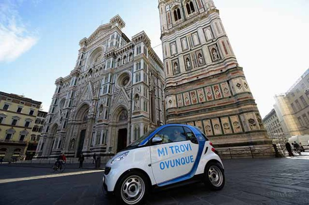 car2go [Photo Credits: intoscana.it]