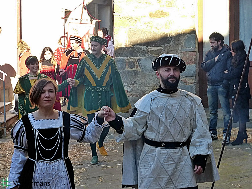 Medieval Carnival in Montorgiali [Photo Credits: Giovanna Casetti]