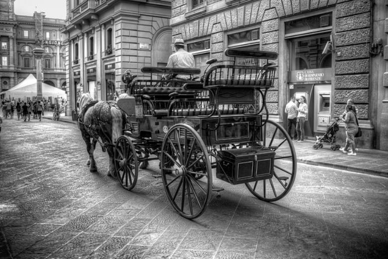 Carriage in Florence