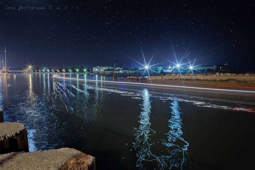 Cecina by night [Photo Credits: Sesa Photography ★]