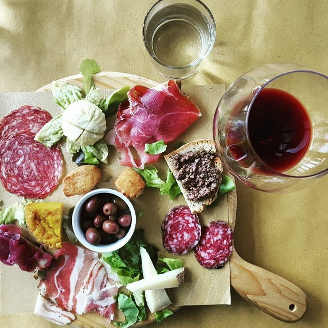 Tuscan antipasto [Photo credits: Michela Simoncini]