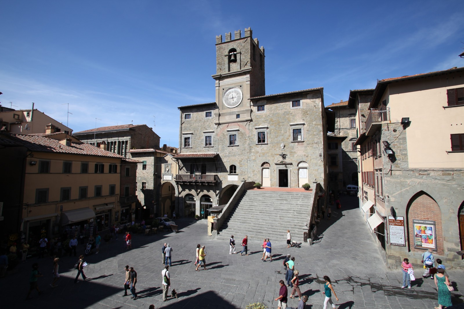 Cortona, Town Hall [Photo Credits: Giovanni Sighele]