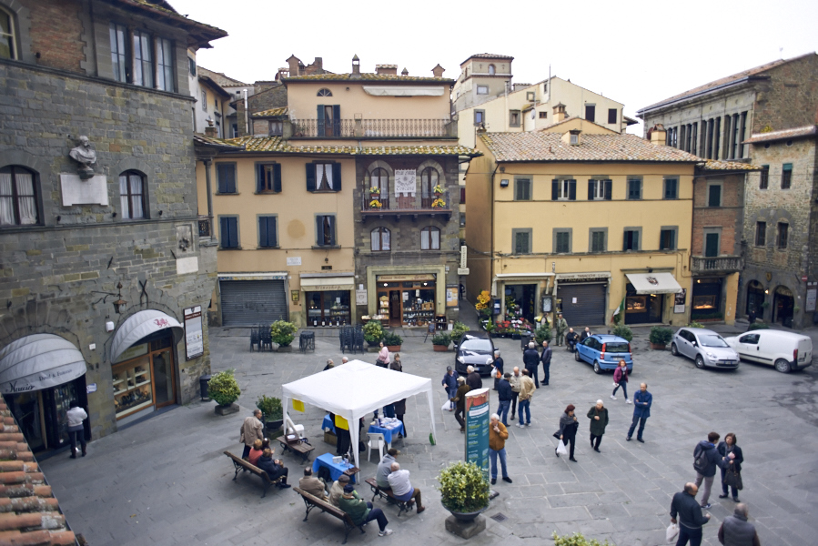 Cortona, Piazza della Repubblica [Photo credits: We Make them wonder]