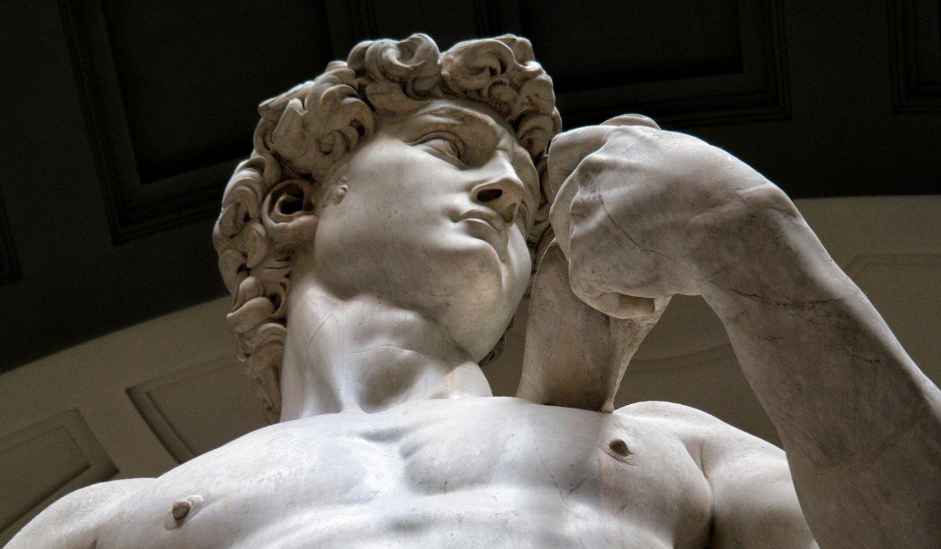Michelangelo s david remarkable