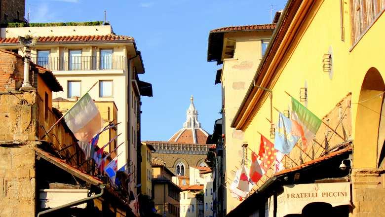 Brunelleschi's Cupola from Ponte Vecchio
