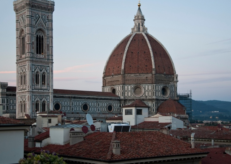 Duomo as seen from the terrace of the Rinascente