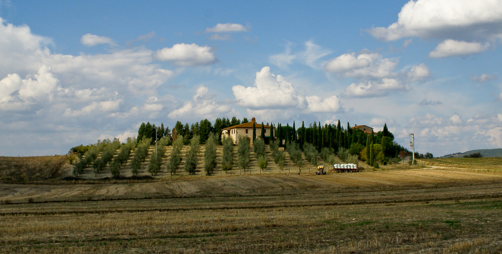 A typical farmhouse in Tuscany [Photo Credits: Mattie van Rijen]