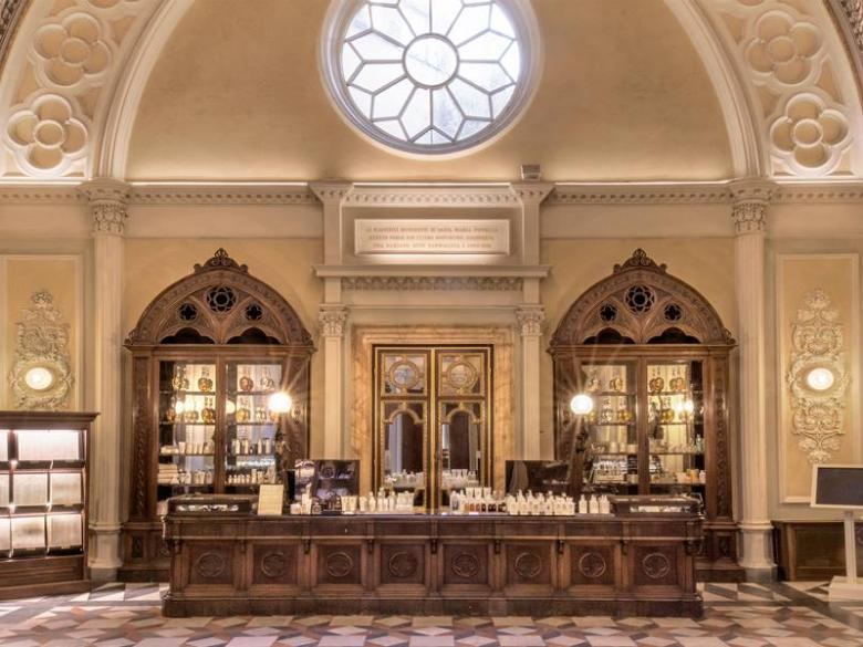 Inside the Officina Profumo-Farmaceutica Santa Maria Novella