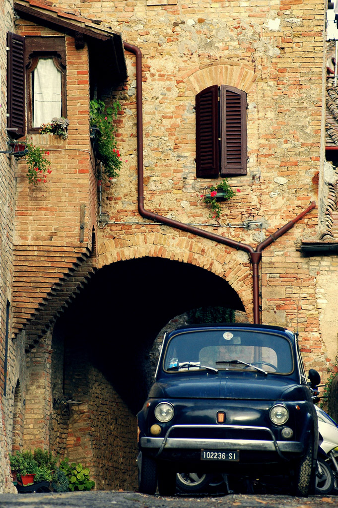 A typical Tuscan glimpse [Photo Credits: Xavier Donat]