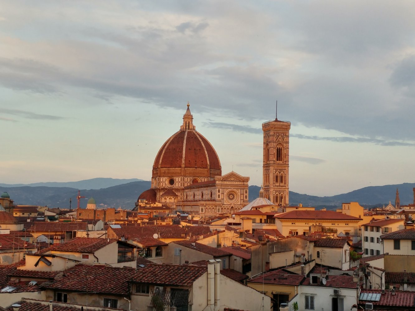 Skyline di Firenze dalla terrazza B-Roof