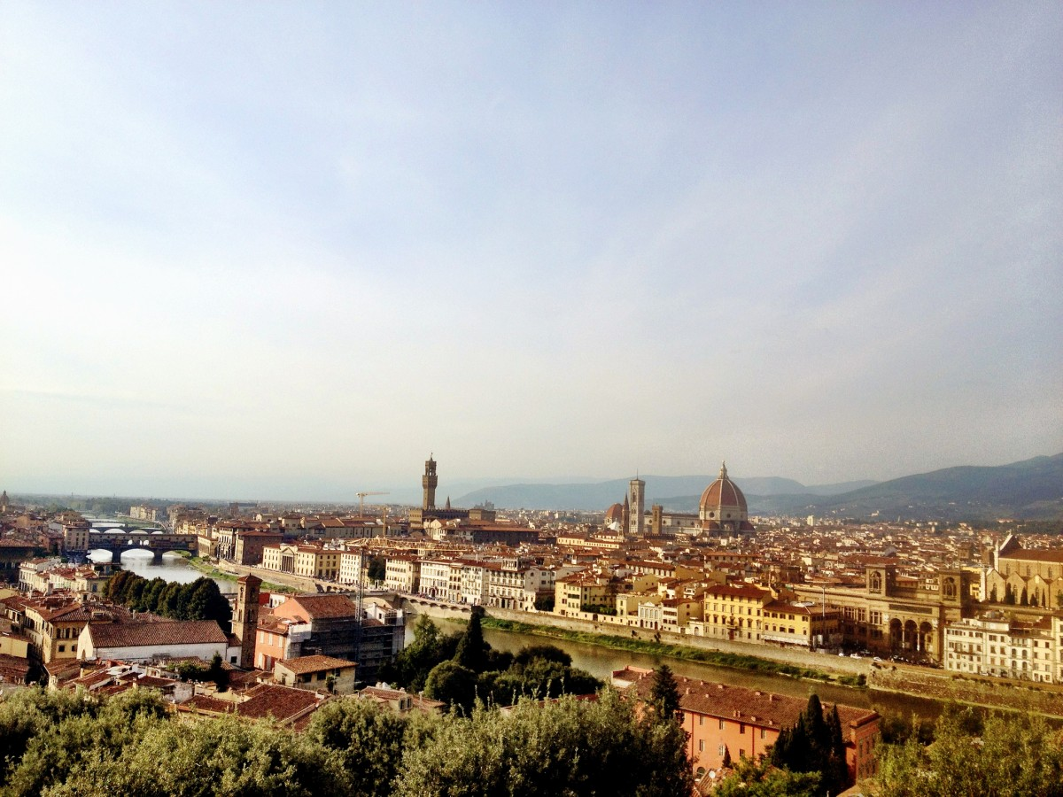 Florence seen from Piazzale Michelangelo [Photo Credits: Yagan Kiely]
