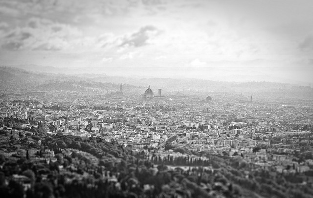Florence seen from Fiesole [Photo Credits: Alessandro Valli]