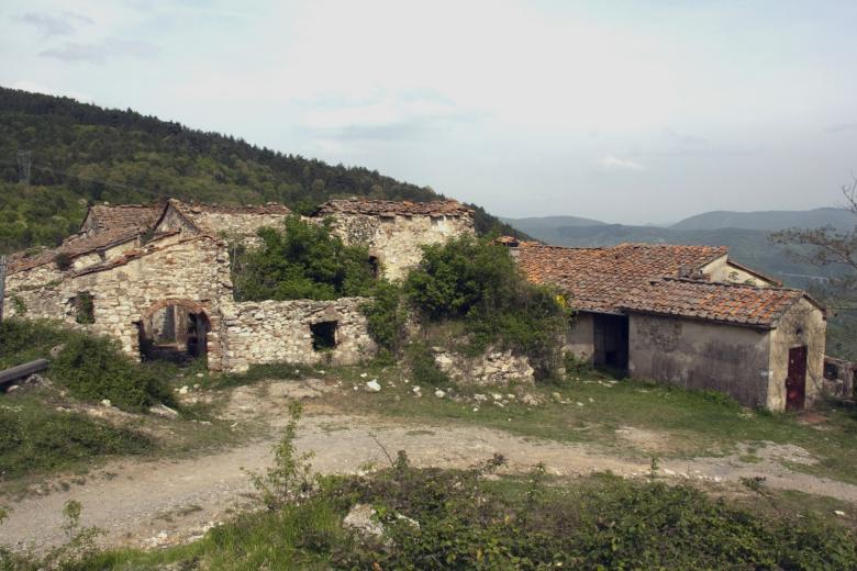 The small hamlet of Valibona, a destination along the Trail of Peace