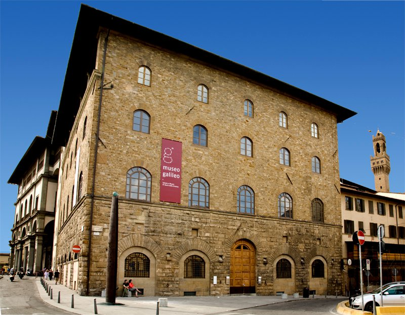 Palazzo Castellani, home to the Galileo Museum [Photo credit: Museo Galileo Facebook page]