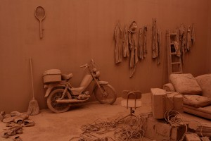 Chen Zhen, Purification Room, 2000. Found objects and clay. Galleria Continua, Photo Ela Bialkowska