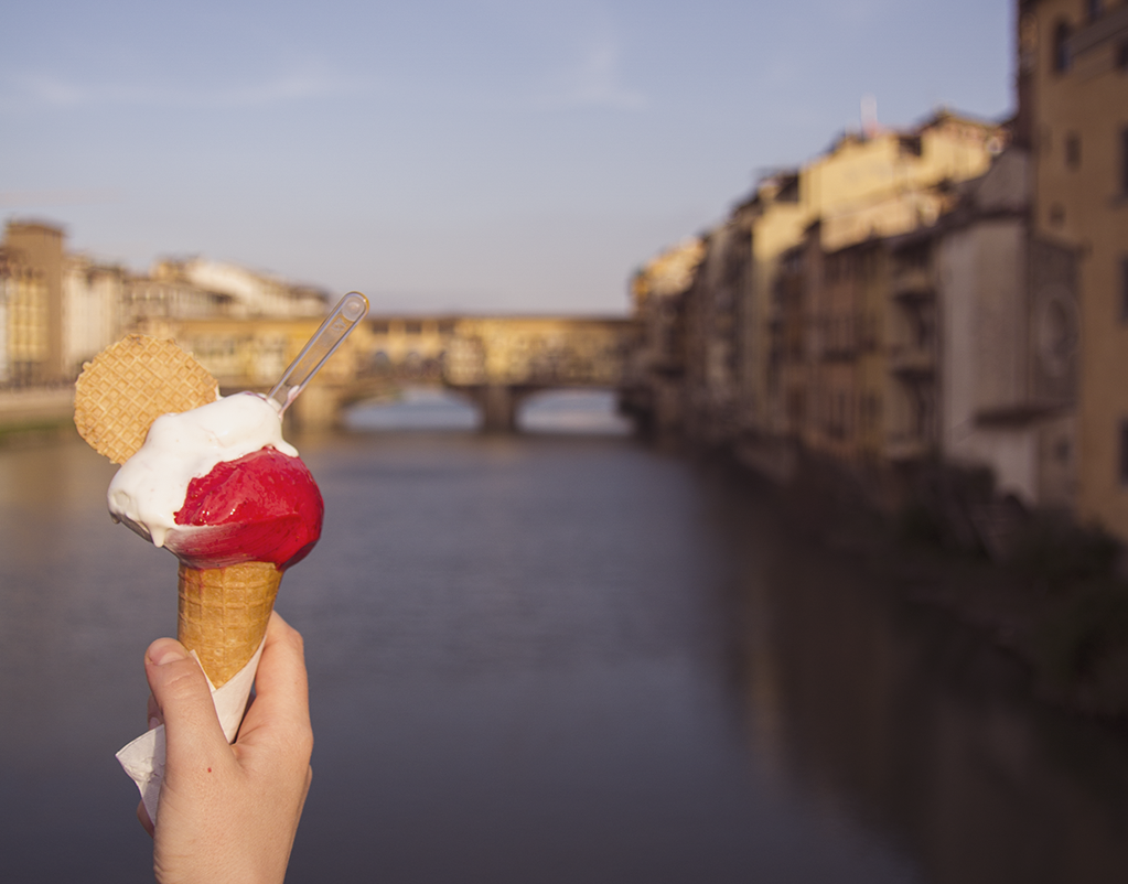 Gelato in Florence [Photo credits: Lara Musa, Tuscany Social Media Team]