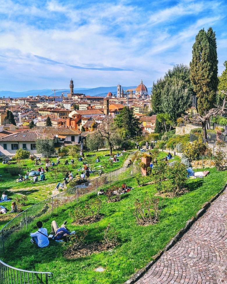 Il giardino delle rose di firenze visit tuscany - Il giardino delle rose ...