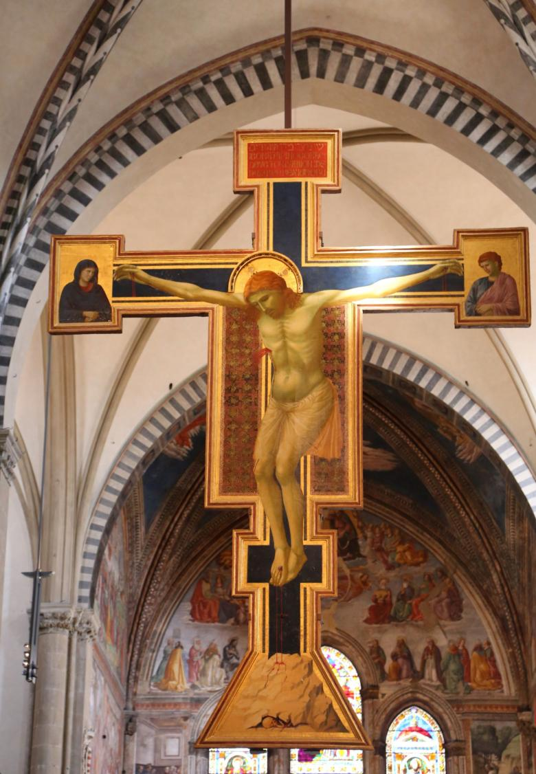 Crucifix in the Church of Santa Maria Novella