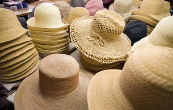 Straw hats in Florence