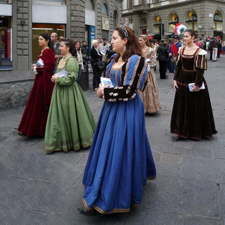 Historical Parade in Florence