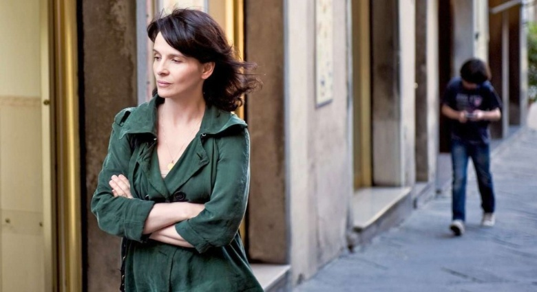 Juliet Binoche in Copia Conforme a Cortona