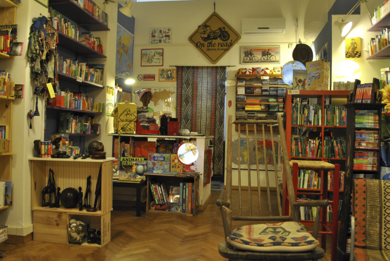 Libreria On The Road, tra le più originali di Firenze