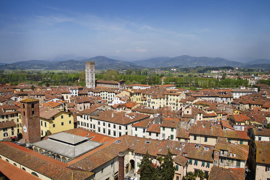 Lucca seen from Guinigi Tower [Photo Credits: Emma Ivarsson]