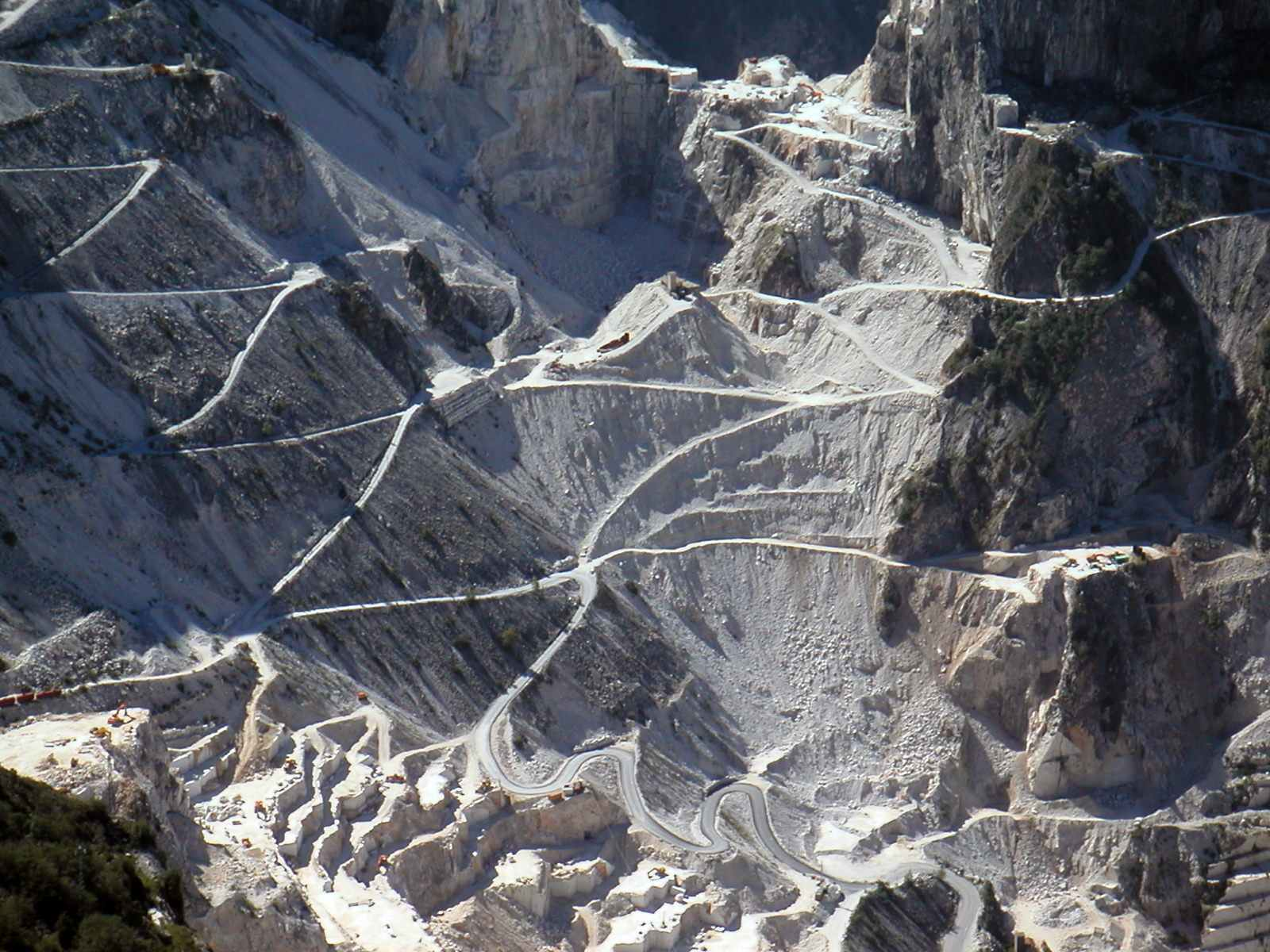Carrara marble is famous all over the world