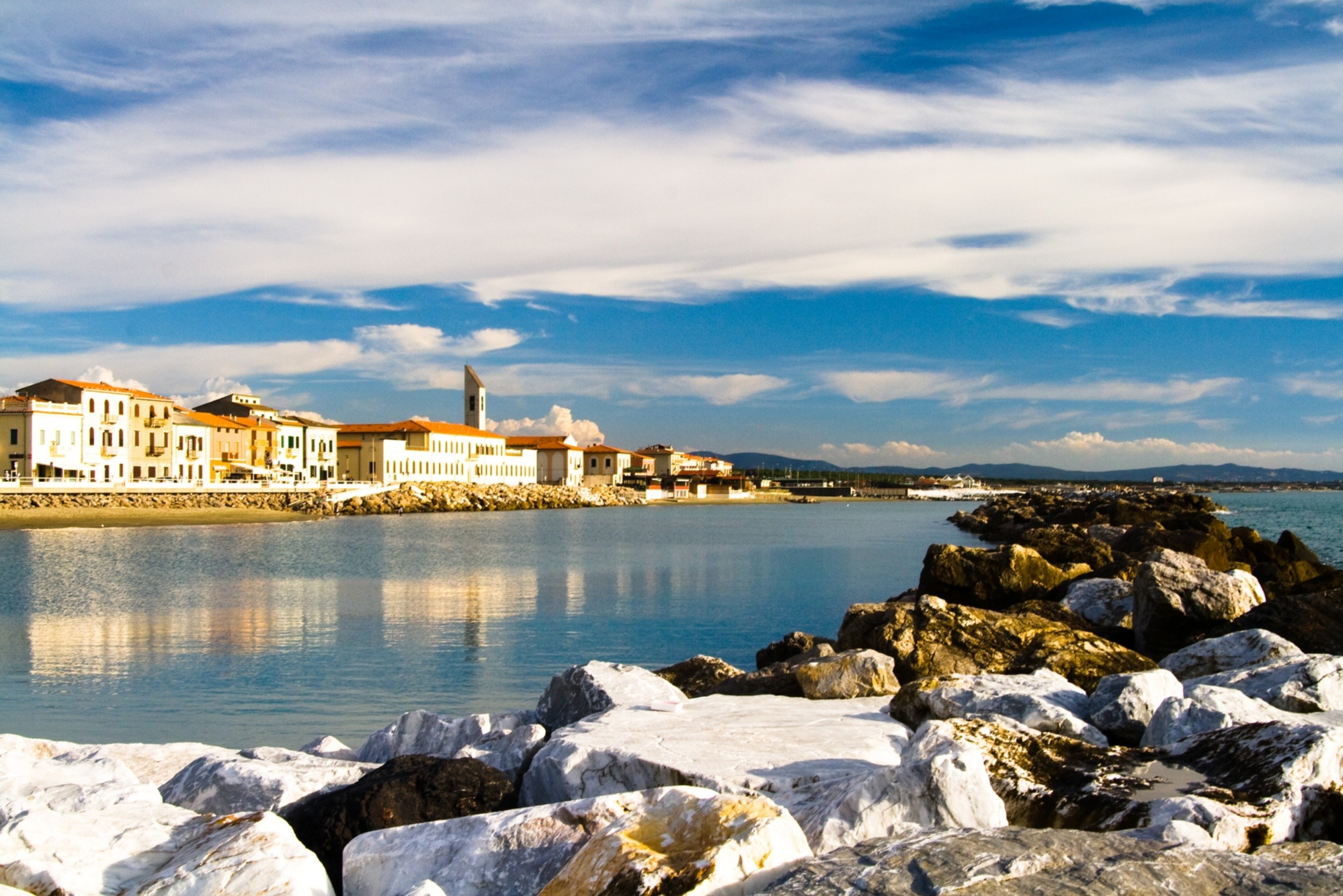 Marina Di Pisa A Beach Town Not Far From The Leaning Tower